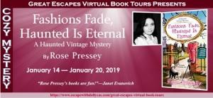 FASHIONS FADE BOOK TOUR