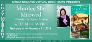 MURDER SHE MEOWED BOOK TOUR