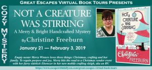 NOT A CREATURE WAS STIRRING BOOK TOUR